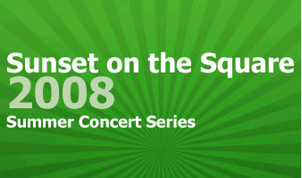 Memphis TN Bands Main Street Collierville presents the Sunset On The Square Concert Series!
