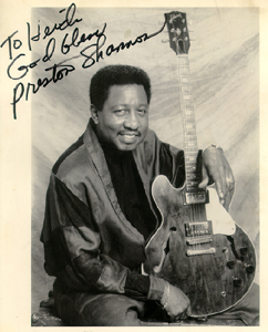 Memphis Music Memphis blues band Preston Shannon