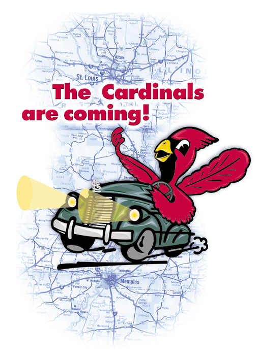 Memphis TN Bands stage rental sound The Cardinal's Caravan! Production by Memphis Sound